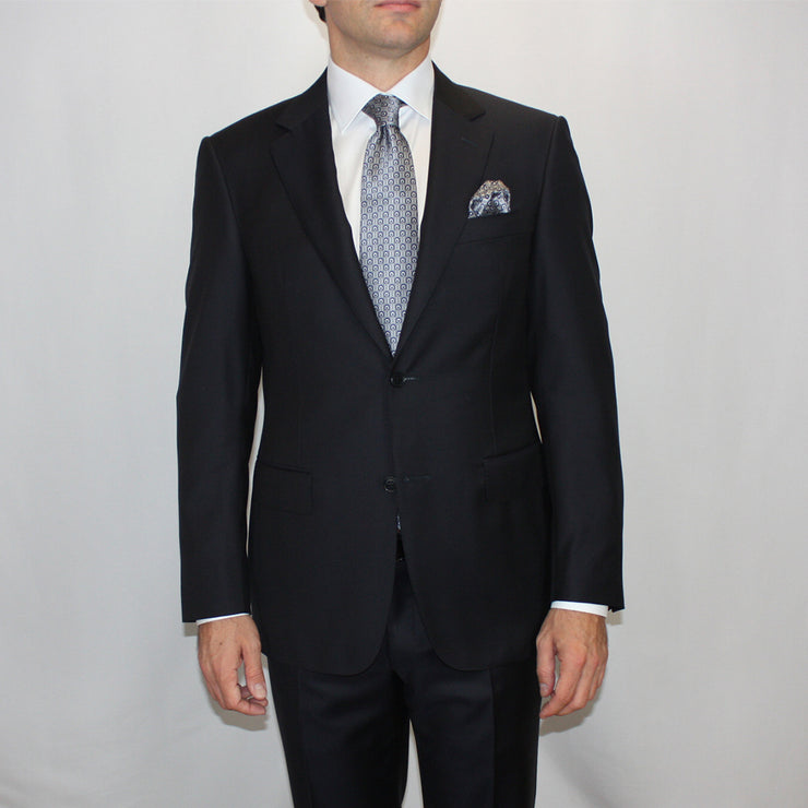 Midnight Blue Wool Suit