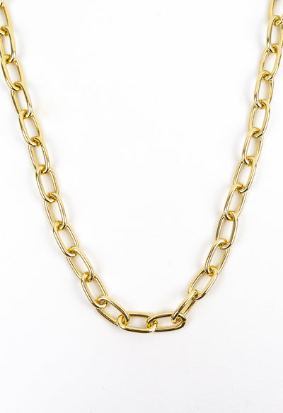 Cecelia Gold Link Necklace