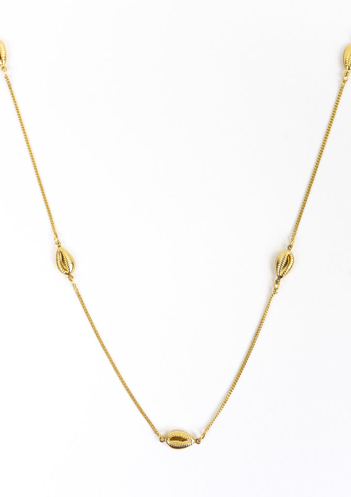 Lost at Sea Gold Necklace (Long)