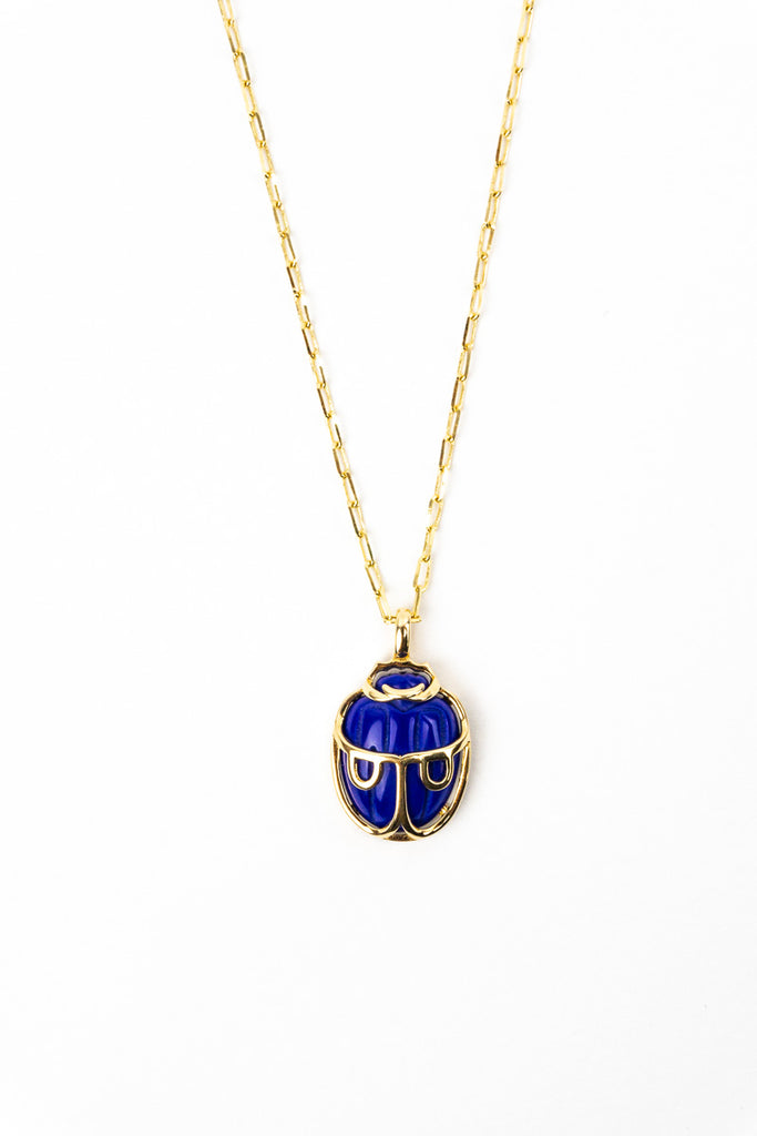 Lady in Blue Lapis Lazuli Necklace