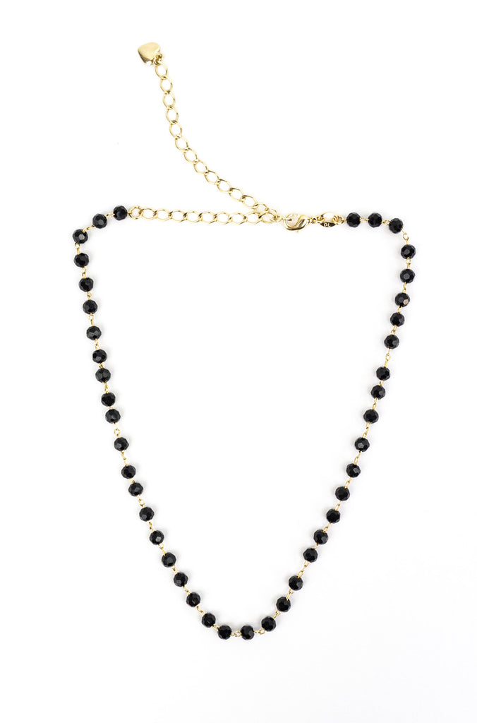 Night in Paris Onyx Necklace