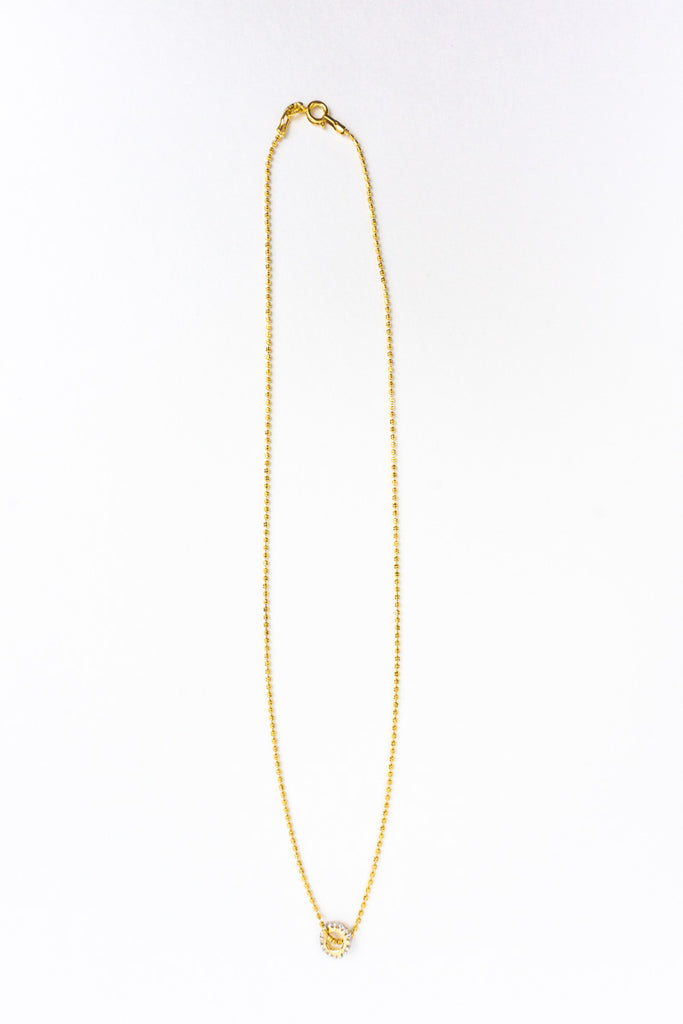 Ring of Hope Gold Layering Necklace