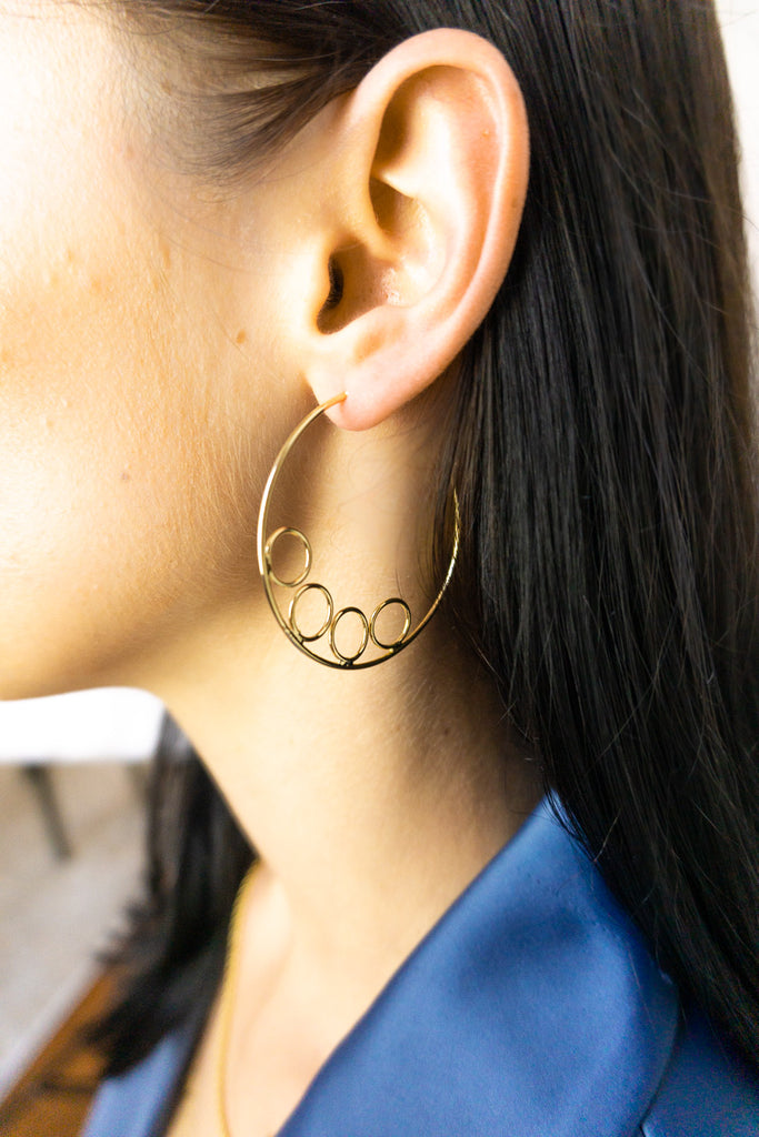 Thelma Abstract Hoops