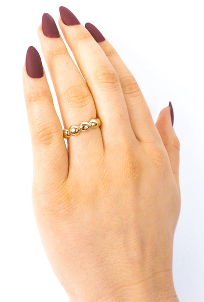 Jojo Gold Nugget Ring