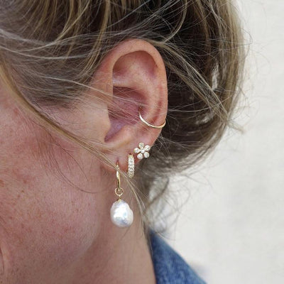 VIVA VIDA Pearl Earrings