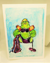 Load image into Gallery viewer, Jeanne and the Bikini Body Greeting Card