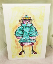 Load image into Gallery viewer, Winter Fashionista Greeting Card