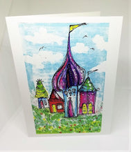 Load image into Gallery viewer, Little Elf Houses Greeting Card