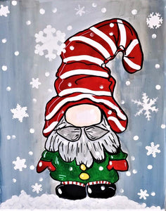 WEDNESDAY DECEMBER 4  Let's Paint a Gnome at the Moonrise Brewing Company!