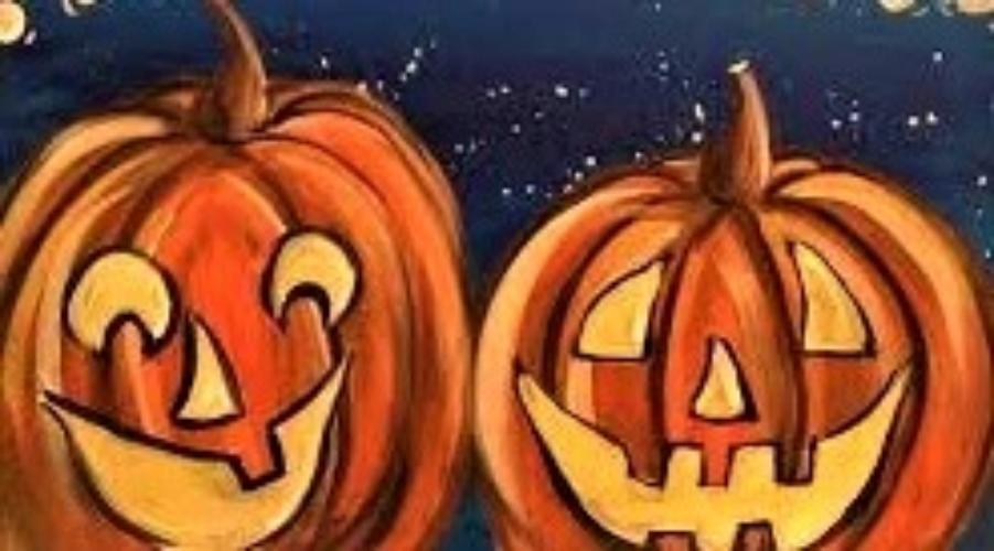 THURSDAY SEPTEMBER 19--- KIDS ART CLASS  - PUMPKIN