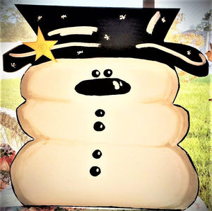 THURSDAY NOVEMBER 21 SNOWMAN Front Door Art PAINTING CLASS