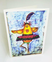 Load image into Gallery viewer, Zazoo and Air Ballet Just Us Chicks Greeting Card