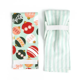 Christmas Ornament Tea Towels