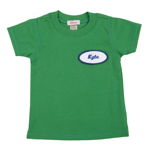 BABY - Personalized Tee - Short Sleeve - Green