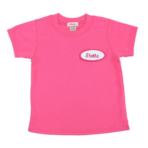 BABY - Personalized Tee - Short Sleeve - Hot Pink
