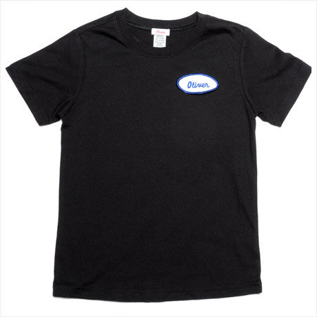 KID - Personalized Tee - Short Sleeve - Black