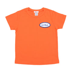 KID - Personalized Tee - Short Sleeve - Orange