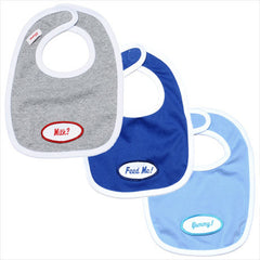 Boys *set of 3* grey/ royal/ powder blue