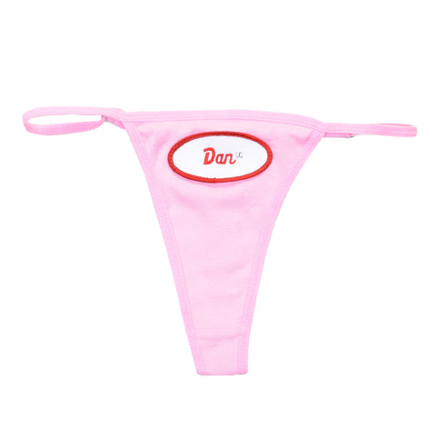 WOMAN - Personalized Thongs - Pink