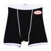 MENS BOXER BRIEFS - BLACK