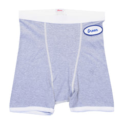 MENS BOXER BRIEFS - HEATHER GRAY