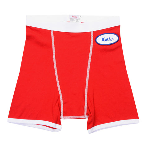 MENS BOXER BRIEFS - RED