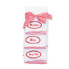 BABY - Personalized Burp Cloths - Red