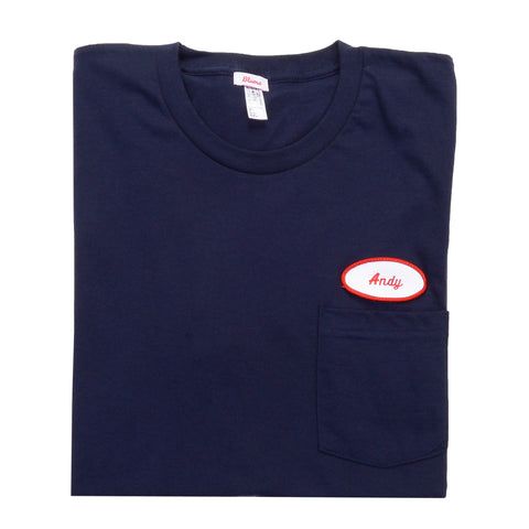 MEN - Personalized Shirt - Short Sleeve - Navy