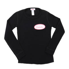 KID - Personalized Thermal - Long Sleeve - Black