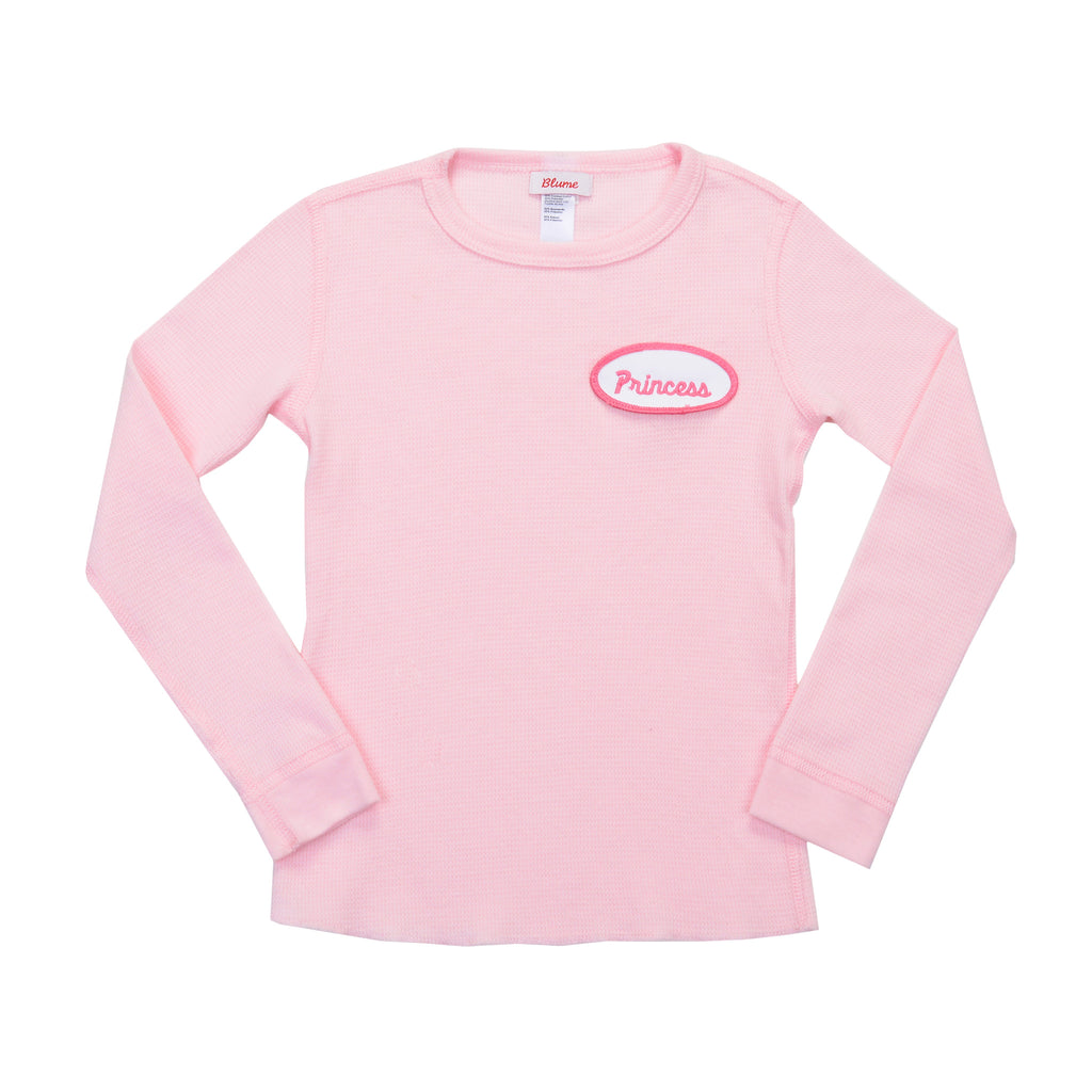 3e7ea8f5686c KID - Personalized Thermal - Long Sleeve - Light Pink | Blume