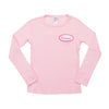 KID - Personalized Thermal - Long Sleeve - Light Pink