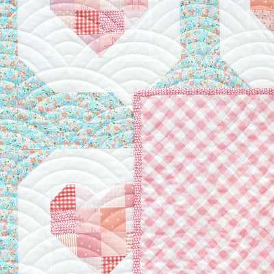I Heart You Patchwork Pattern Hack