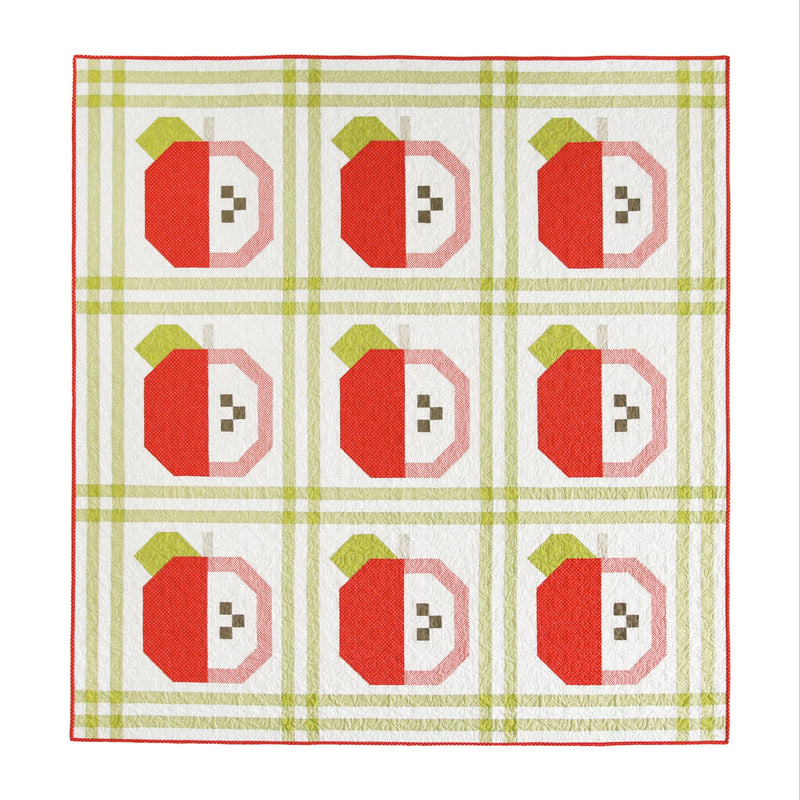 PRINTED Apple Orchard Quilt Pattern