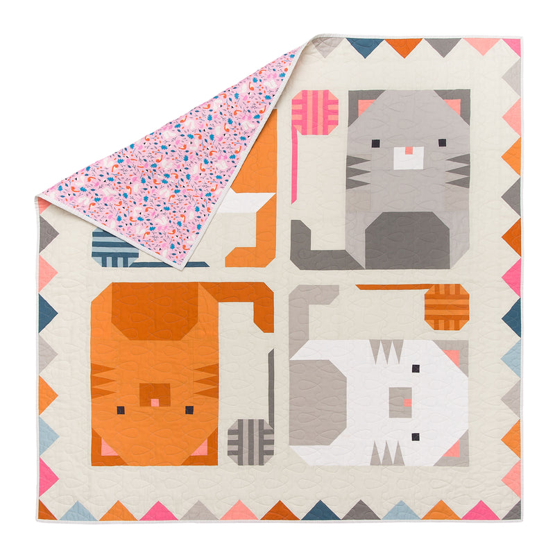 Wholesale Kitten Around Quilt Pattern