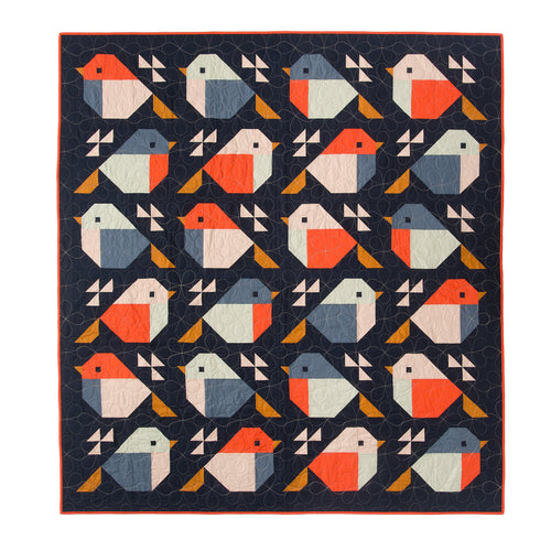 PDF Sparrows Quilt Pattern