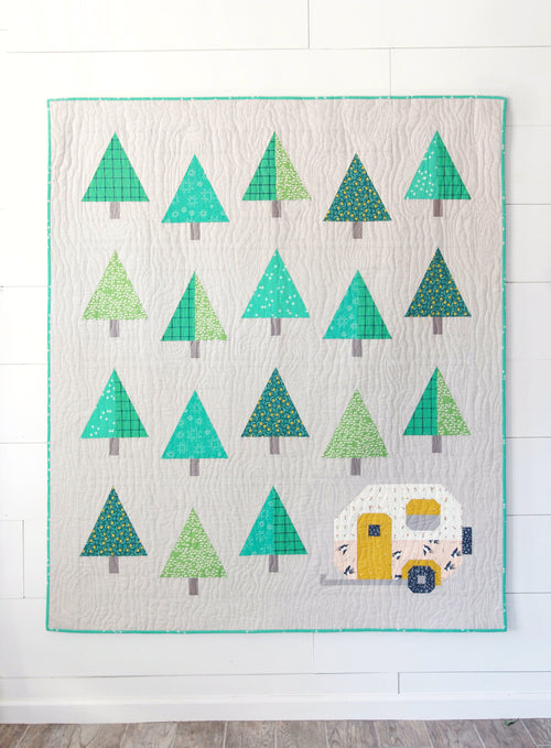PDF Up North Quilt Pattern