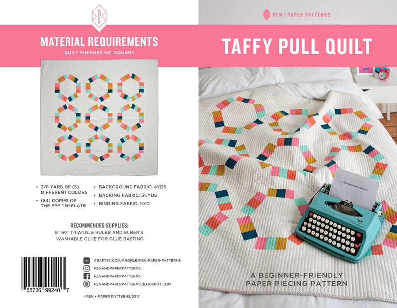 Wholesale Taffy Pull Quilt Pattern