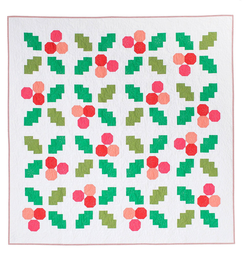 PDF Holly Jolly Quilt Pattern