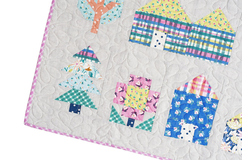 PRINTED Tiny Town Quilt Pattern