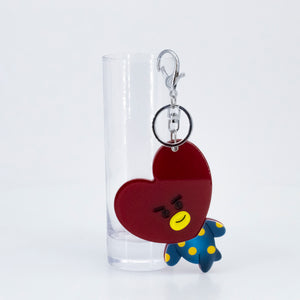 Heart Mirror Key Chain, found in Seoul, Korea