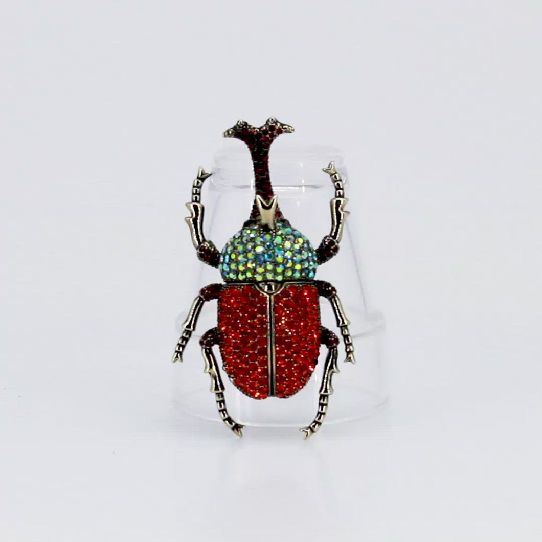 Animal Scarabee Brooch, found in Seoul, Korea