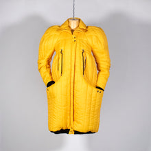 Load image into Gallery viewer, EXCLUSIVE TOM VAN DER BORGHT Yellow puffy jacket from final year collection polyester