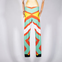 Load image into Gallery viewer, EXCLUSIVE TOM VAN DER BORGHT Legging red green yellow black printed polyester