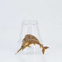 Load image into Gallery viewer, Animal Swordfish Brooch, found in Seoul, Korea