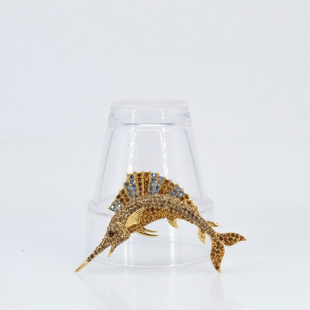 Animal Swordfish Brooch, found in Seoul, Korea