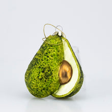 Load image into Gallery viewer, GLASS AVOCADO ORNAMENT