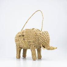 Load image into Gallery viewer, Woven Rattan Animal Clutch, found in Mexico City