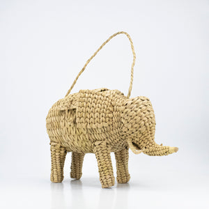 Woven Rattan Animal Clutch, found in Mexico City