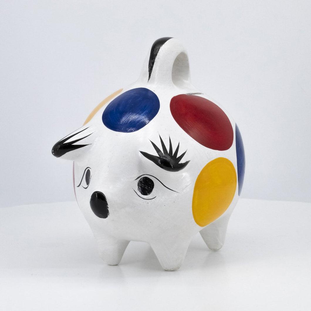 Ceramic Polka Money Keeper