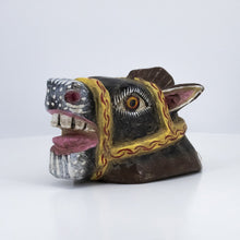 Load image into Gallery viewer, Crazy Horse Wooden Mask